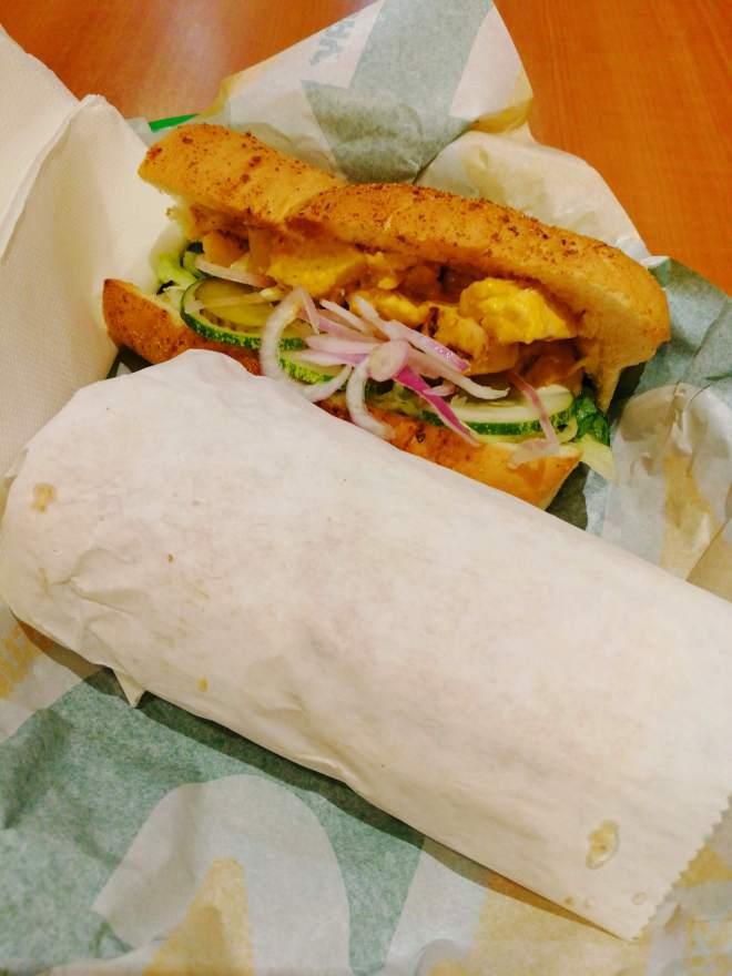 Subway Cheese Melt Sub Sandwich